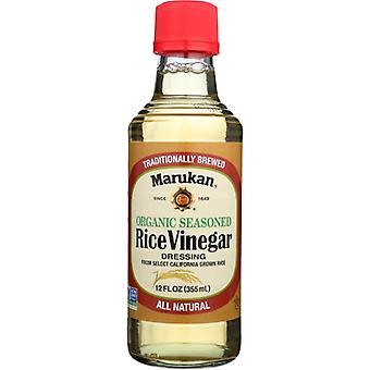 Marukan Vinegar Rice Ssnd Org, Case of 6 X 12 Oz