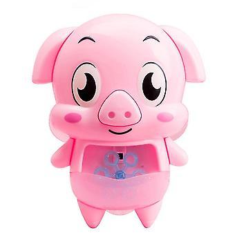 1セットピギー形の入浴おもちゃの泡のシャワーおもちゃベビー入浴遊び