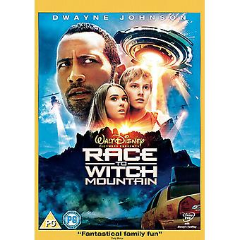 Race to Witch Mountain DVD (2009) Dwayne Johnson Fickman (DIR) Zertifikat PG Region 2