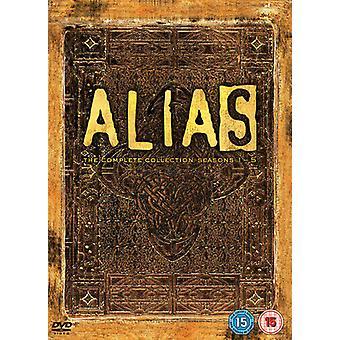 Alias The Complete Collection DVD (2006) Jennifer Garner Zertifikat 15 25 Discs Region 2