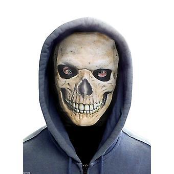 FACE SKINZ - GRINNING SKULL FACE Lycra Face Mask