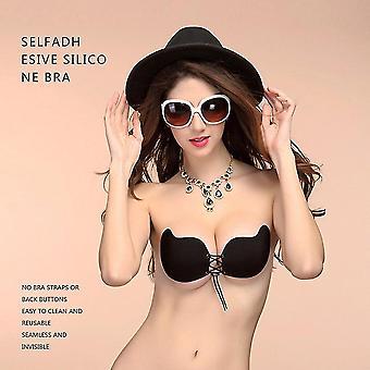 Vrouwen Sexy Strapless Instant Breast Lift Invisible Push Up Mango BH Onzichtbaar