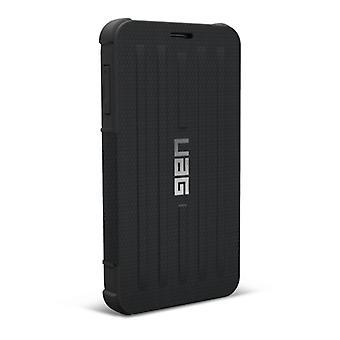 ARMADURA urbana equipo Samsung Galaxy Note Folio 4 caso - negro