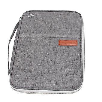 Tragbare Reisepasstasche, Führerschein, Ticketinhaber (Grau)