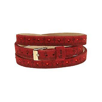 Il mezzometro strass leather bracelet  bms1312_s