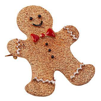 Milk&Moo Gingerbread Man Brooch