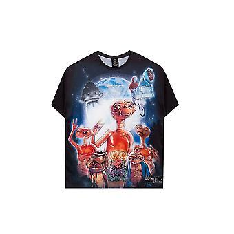 T-shirt oversize Hype Unisex Adult Graphic E.T