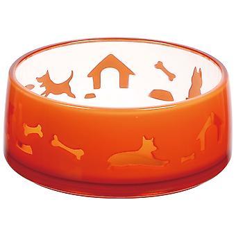 Ferribiella Duoworld Red Plastic Bowl Duoworld Red