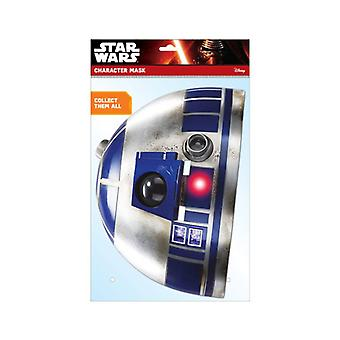 R2-D2 Official Star Wars 2D Card Party Fancy Dress Mask