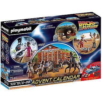 Playmobil: Calendario de Adviento Regreso al Futuro - Western