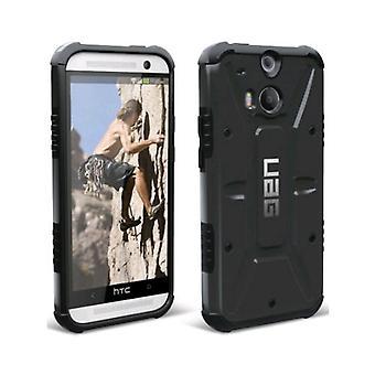 Urban Armor Gear Composite Case para HTC One (M8) - Negro/Negro