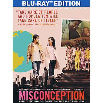 Misconception [Blu-ray] USA import
