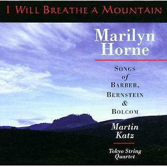 Marilyn Horne - I Will Breathe une importation USA Mountain [CD]