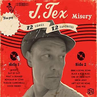 J. Tex - Misery [CD] USA import