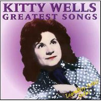 Kitty Wells - Greatest Songs [CD] USA import