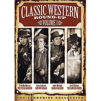 Klassische Western Round-Up - Classic Western Round-Up, Vol. 1 [2 DVDs] [mit Movie Bar] [DVD] USA Import