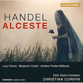G.F. Haendel - Handel: Alceste [CD] USA import