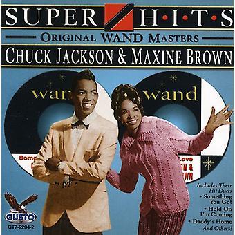 Chuck Jackson y Maxine Brown - importación de Estados Unidos Super Hits [CD]