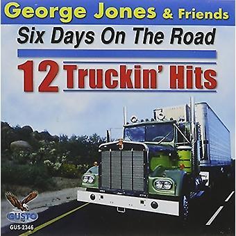 George Jones - Six Days on the Road: 12 Truckin Hits [CD] USA import