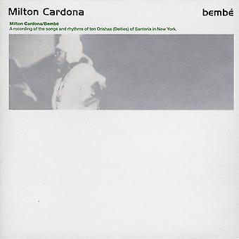 Milton Cardona - Bembe [CD] USA import
