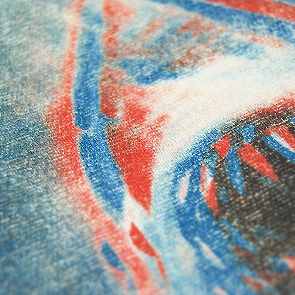 Mâchoires Mens Retro mors en terrifiant 3D T Shirt