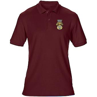 Prinsesse Victorias Royal Irish Fusiliers broderet Logo - officielle britiske hær Herre Polo Shirt