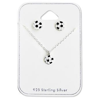 Football - 925 Sterling Silver Sets - W28971x
