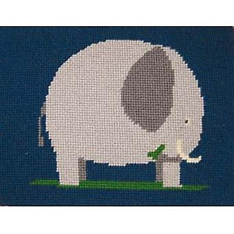 Elephant Needlepoint Kit