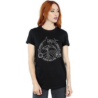 Harry Potter Women's Ravenclaw Seal Boyfriend Fit T-Shirt
