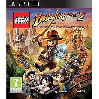 LEGO Indiana Jones 2 het avontuur gaat verder (PS3)-nieuw