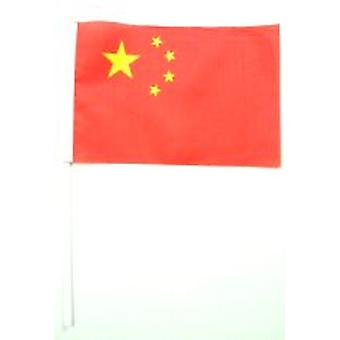 Kiina Hand Held lippu