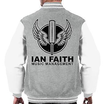 Spinal Tap Ian Faith muziek beheer mannen Varsity Jacket
