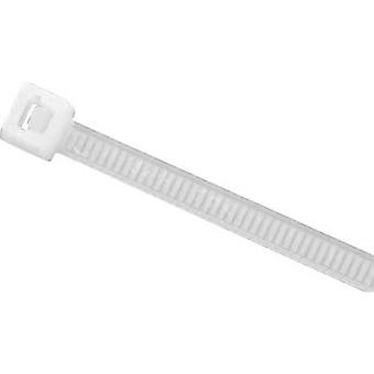 HellermannTyton 138-80019 UB8-PA66-NA-M1 Cable tie 200 mm 4.60 mm Ecru 1000 pc(s)