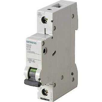 Siemens 5SL6116-6 disjoncteur 1 pôle 16 A 230 V, 400 V