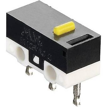 Hartmann Microswitch MICROHART 125 V AC 3 A 1 x On/(On) momentary 1 pc(s)
