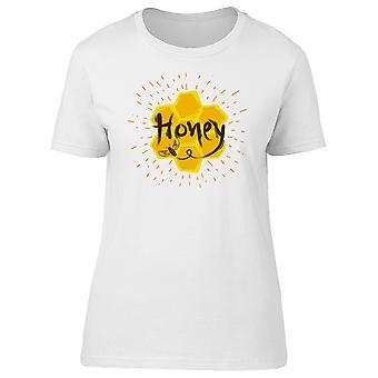 Biene Honig Label T-Shirt Frauen-Bild von Shutterstock