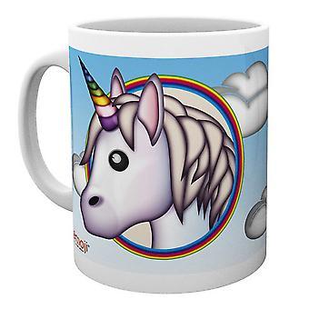 Emoji Unicorn Ceramic Mug
