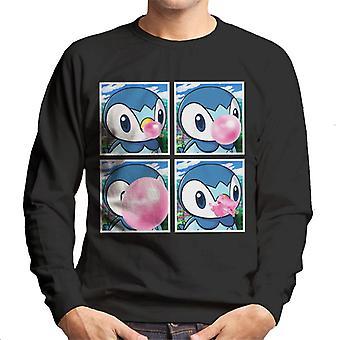 Plinfa Bubblegum Pokemon Herren Sweatshirt