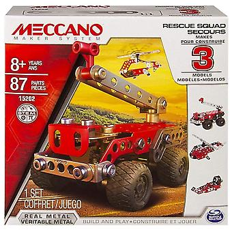 Meccano Multi Models, 3 Model Set - Rescue