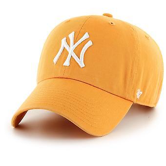 47 Brand Adjustable Cap - CLEAN UP New York Yankees gold