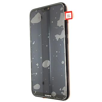 Genuine Huawei P20 Lite - LCD Screen Assembly with Battery - Black - 02351VPR