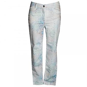 Faber Women's Scale Design Printed Trousers