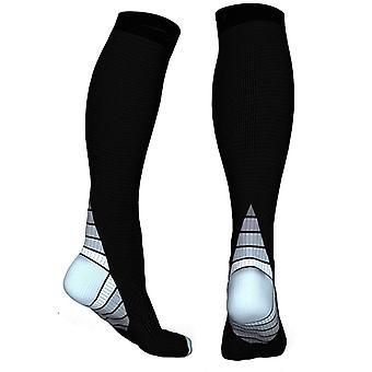 Knee High compression socks for running & Sport-Grey