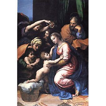 العائلة المقدسة، العائلة المقدسة الكبرى لفرانسوا، رافائيل