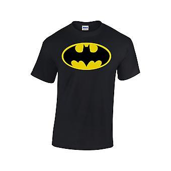 Batman Logo Black Men T-Shirt Dc Comics