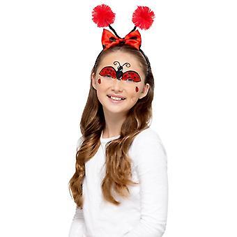 Ladybug bee barn makeup gjør opp FX Carnival Schminke feil ansikt farge
