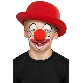 Kit Clown familial avec 4 couleurs 2 Crayons nez éponge brosse, maquille