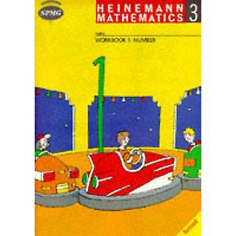 Heinemann Maths 3 - Workbook 1 Number (8 Pack) by Scottish Primary Mat