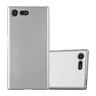 Cadorabo Hülle für Sony Xperia X Compact Case Cover - Handyhülle aus flexiblem TPU Silikon – Silikonhülle Schutzhülle Ultra Slim Soft Back Cover Case Bumper