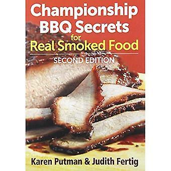 Championnat du barbecue Secrets pour aliments fumés réel
